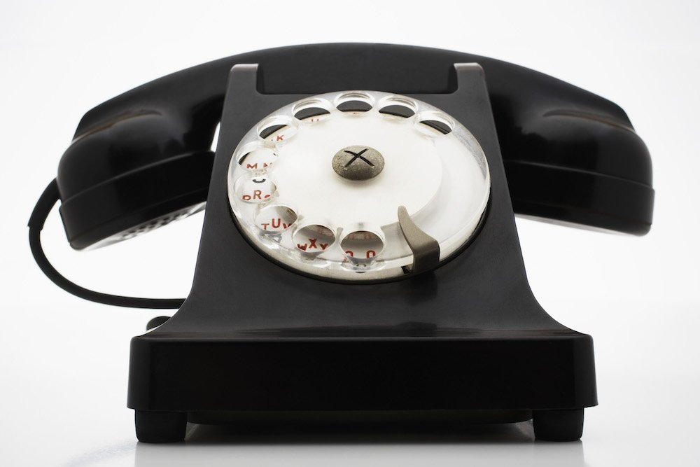 Traditional phone line for business use